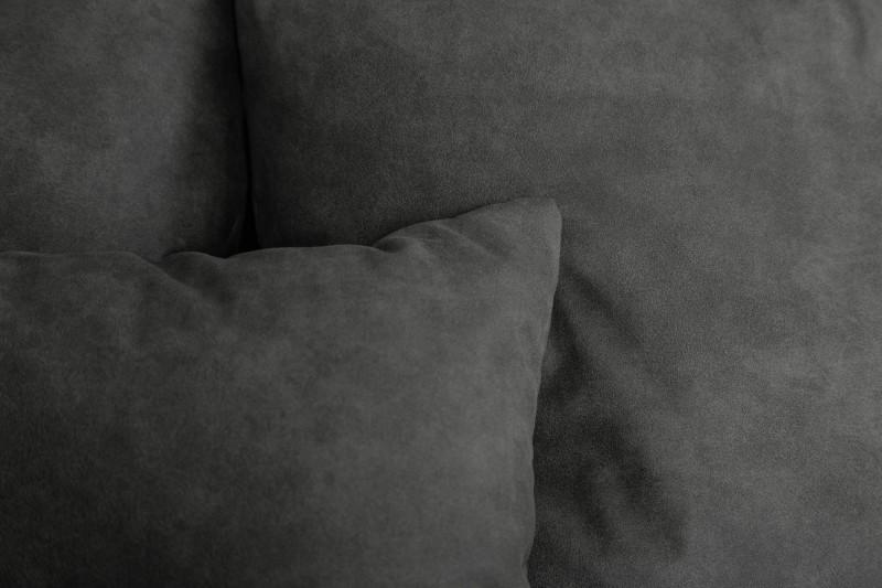 Pohovka Cassiopea 280cm - tmavě-šedá, mikrovlákno / 40479