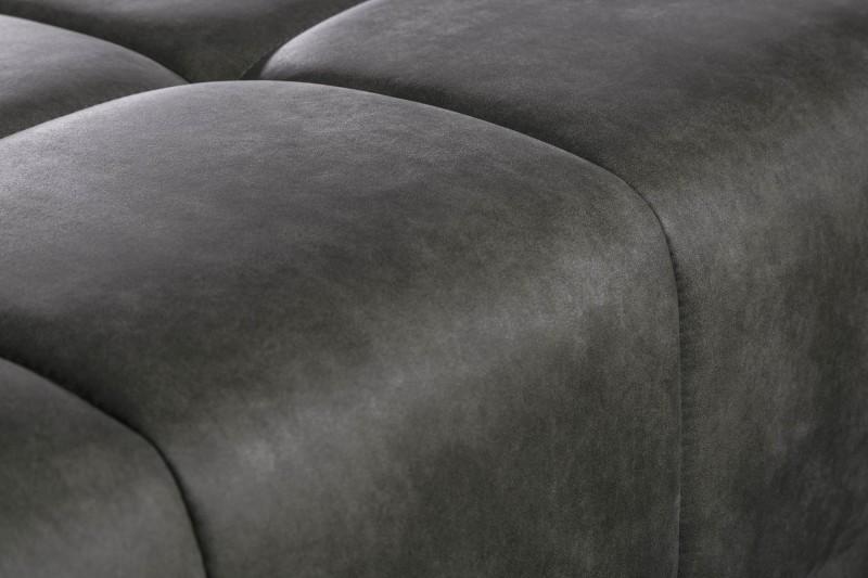 Taburet Cassiopea 110cm - tmavě-šedý, mikrovlákno / 40480