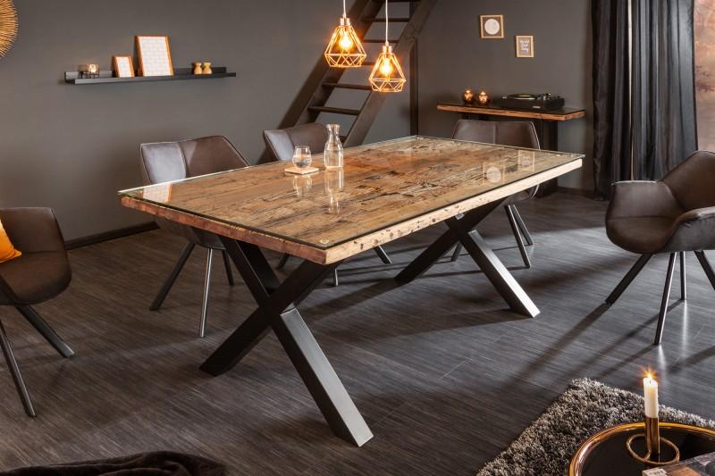 Jídelní stůl Barracuda X 180 cm přírodní / 39698