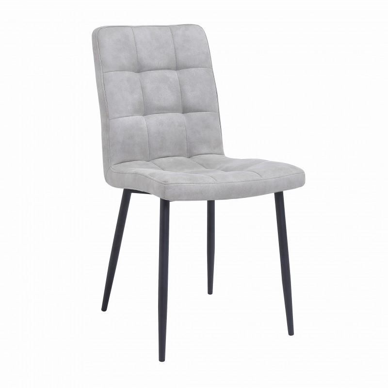 Jídelní židle Columbia - světle šedá / 40690