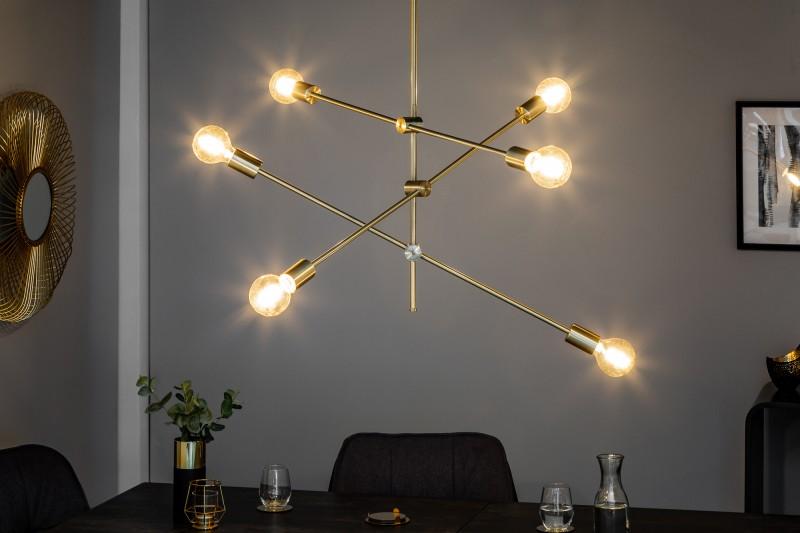 Závěsná lampa Golden Light - zlatá / 40772