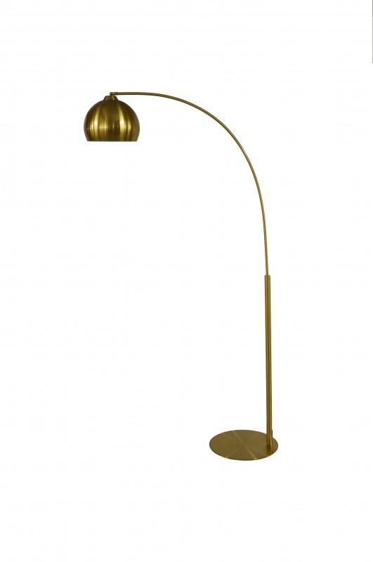 Stojací lampa Celine 205cm - zlatá / 40771