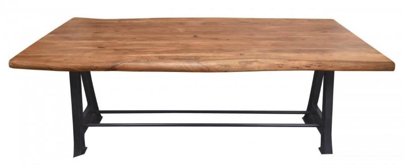 Jídelní stůl Accra Industrial 220cm x 100cm - akát / 40651