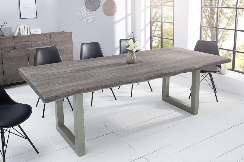 Jídelní stůl Accra 220cm x 100cm - šedý akát / 41321