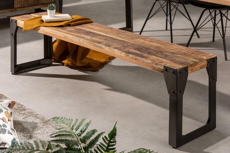 Bench Factory 160 cm přírodní mango / 40547