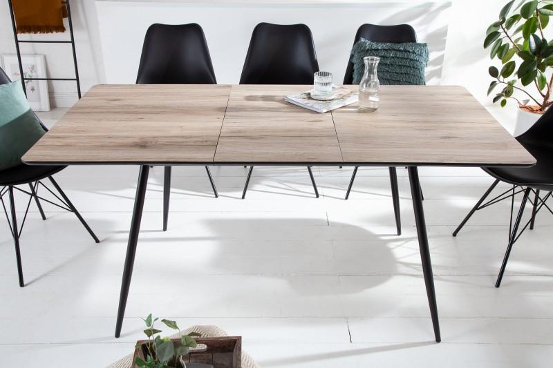 Jídelní stůl byt 120-160cm dub / 41575