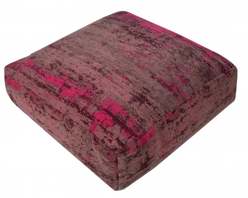 Podlahový polštář Modern Art 70cm červeno-růžový / 41266