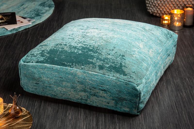 Podlahový polštář Modern Art 70cm tyrkysový / 41267
