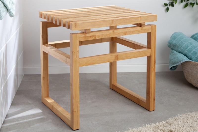 Bamboo Spa taburet 40cm přírodní bambus / 40945
