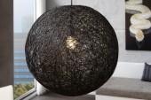 Hängeleuchte Cocooning schwarz 60cm/ 11015