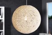 Hängeleuchte Cocooning weiss 60cm/ 11014