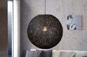 Hängeleuchte Cocoon schwarz 45cm/ 11013