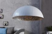 Hängeleuchte Glow weiss silber 50cm/ 13209