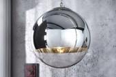 Hängeleuchte Globe 40cm chrom/ 16416