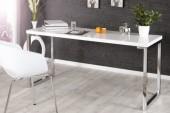 Schreibtisch White Desk weiss 140x60cm/ 21141
