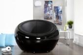 Sessel Lounge Ball schwarz/ 11617