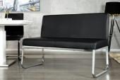 Sitzbank Hampton 120cm schwarz/ 22128