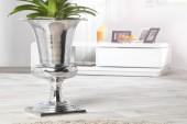 Vase Goal 60cm silber/ 21708