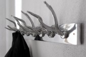 Wandgarderobe Deer 50cm silber/ 22529