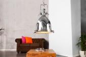 Hängeleuchte Industrial chrom 35cm/ 22853