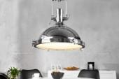 Hängeleuchte Industrial chrom 45cm/ 22856