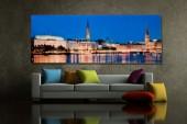 Bild Hamburg Binnenalster 45x100cm Glas/ 30111