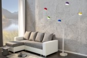Stehleuchte Five Lights bunt/ 22775