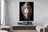 Ölbild PowerOfNature 120x160cm Nashorn/ 10888