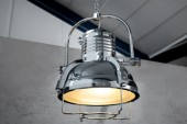 Hängeleuchte Industrial II chrom 35cm/ 35212