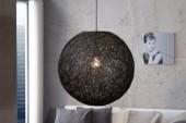 Hängeleuchte Cocoon M schwarz 35cm/ 35271