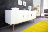 Sideboard Scandinavia 160cm weiss/ 35127