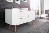 Sideboard Scandinavia 120cm weiss/ 35131