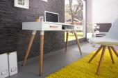 Schreibtisch Scandinavia 120cm weiss/ 35137