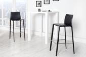 Barhocker Milano - Leder schwarz/ 35616