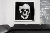 Bild Mirror Skull 100x100cm/ 35041