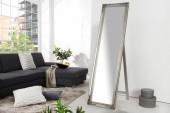 Standspiegel Versailles 160cm silber/ 35743