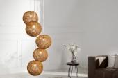 Hängeleuchte Cocooning Pearls 5er natur-braun/35965