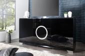 Sideboard Zen 160cm schwarz/ 35605