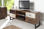 TV-Board Nature Patchwork 150cm Kuhfell/ 35855