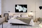 Bild Orchidee 60x30cm 3-teilig Glas/ 36004