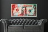 Bild One US Dollar 100x50cm/ 35986
