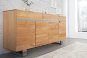 Sideboard Genesis 170cm Eiche Edelstahl/ 36409