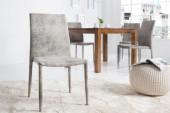 Stuhl Milano antik grau/ 36490