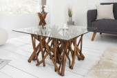 Couchtisch Driftwood Treibholz braun 80cm/ 36575