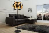 Stehleuchte Infinity Home 170cm schwarz gold/36839