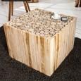 Couchtisch Mosaik 60cm Treibholz/ 36582