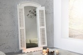 Wandspiegel View 120cm grau vintage weiss/ 36882