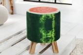 Sitzhocker Fruits 45cm grün Wassermelone/ 36951