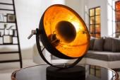 Tischleuchte Studio 40cm schwarz gold/ 37140