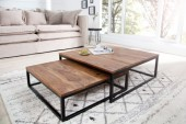 Couchtisch New Fusion 2er Set Sheesham/ 37291